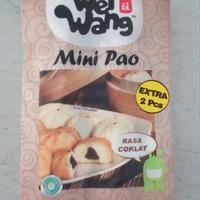 mini pao / bakpao isi coklat / mini pao isi 25pcs