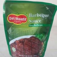 delmonte saus barbeque 250gr / saus barbeque /