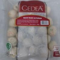 Cedea bakso ikan sayur 500gr/ bakso ikan / bakso ikan campur sayuran