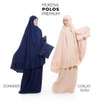 Mukena Katun Polos Premium Bali Wanita