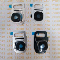 Ring kamera Lensa kamera Kaca samsung galaxi S7 Flat S7 Edge Original