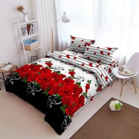 Kintakun Dluxe - Bed Cover King Set Terbaru Roseline