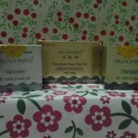 Cream Deoonard Gold lengkap cream siang, malam dan sabun