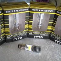 LAMPU DEPAN LED 2 SISI MOTOR VARIO, BEAT, SUPRA 125, JUPITER, MIO