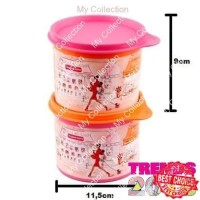 Tupperware Miss Belle Compact Canister Toples Kecil Lucu Original