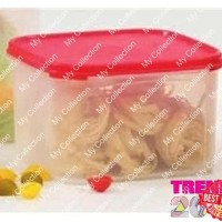 Tupperware Modular Mates Square 2 Wadah Kotak - Collection Original