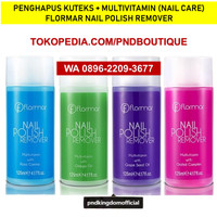 (Made in Turkey) Penghapus Kuteks Halal Flormar Nail Polish Remover