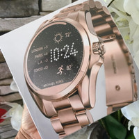 a5441836c121 MICHAEL KORS ACCESS BRADSHAW SMART WATCH MKT5004 ROSE GOLD