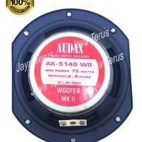 Speaker Woofer Audax 5 inch AX- 5149 8 Ohm Speaker 5 Kualitas Premium