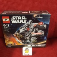 Lego Original Microfighters Millenium Falcon Chewbacca Star Wars 75193