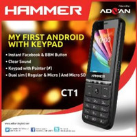 HP HAMMER ADVAN CT1 ANDROID BISA BBM - FACEBOOK