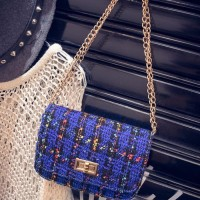 New tas tangan kotak-kotak / chain of small square handbags BTA037