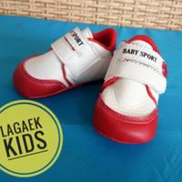 prewalker sepatu bayi perempuan 0 - 9 bulan bunga MERAH/pw baby girl