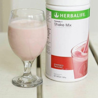 Susu#Herbalife#F1 Shake Mix Rasa Wildberry#diet#original