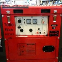 Genset silent diesel 7000 watt 1 phase.GRATIS ONGKIR.GR Berkualitas