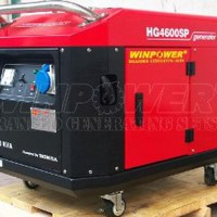Genset Honda silent 3 kva 1 phase 3000 Watt GRATIS ONG Limited