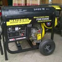 Genset Diesel 3000 watt Matsuko GRATIS ONGKIR P.JAWA Diskon