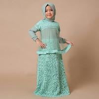 baju muslim pesta nina anak perempuan 3 4 5 tahun kid amy toska VT
