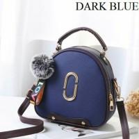 Tas Handbag Import Remaja Dan Dewasa Wanita Modern Masa Kini Dark Blue