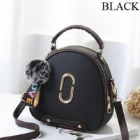 Tas Handbag Import Remaja Dan Dewasa Wanita Modern Masa Kini Black