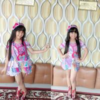 Baju fashion show anak batik premium 2 model