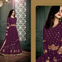 Vidhisha Anarkali 3/Maxi Dress Gamis Pesta India/Gaun Pengantin Import