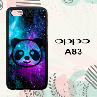 Casing OPPO A83 Custom HP Galaxy Panda LI0084