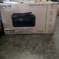 Printer A3 epson wf7611 all in one