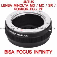Adapter FOTGA Minolta MD To Kamera Camera Canon EOS Mirrorless M M1
