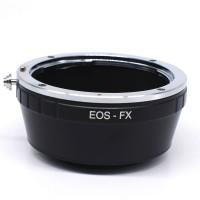Adapter Lensa Canon EOS EF EFS to Kamera Fujifilm FX X T X A Mirrorl