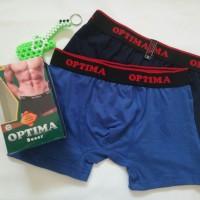 Celana dalam boxer cd pria dewasa M optima 1 pack isi 2 termurah
