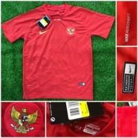 Jarsey bola merah timnas Indonesia grade ori