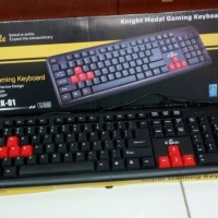 KEYBOARD USB E-SMILE / KEYBOARD KOMPUTER / KEYBOARD GAMING [PROMO]