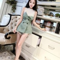Harga midi dress wanita dress fashion | antitipu.com