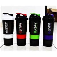 Botol Minum Shaker / Spider Bottle Shaker fitness gym 600ml - KHB018