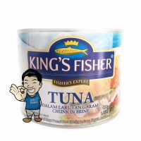 King's Fisher Tuna In Canned- Daging Tuna Kaleng 1800g