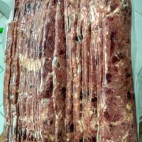 Beef bacon 1.000gr halal