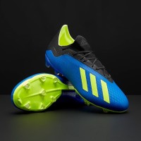 Sepatu bola adidas original X 18.2 FG Football Blue DA9334 689fc9ada4