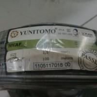 Kabel Yunitomo NYAF 1.5mm2 Abu-Abu 100 meter/roll