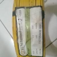 Kabel Yunitomo NYAF 1.5 mm2 kuning 100 meter/roll