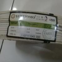 Kabel Yunitomo NYAF 1.5 mm2 Putih 100 meter/roll