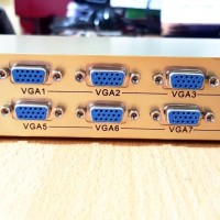 VGA SPLITER 1 TO 8 PORT + ADAPTOR / VGA SPLITTER 8 PORT