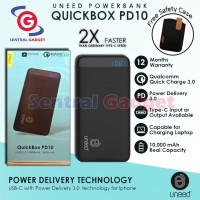 POWER BANK UNEED 10.000mAH Quick Charge 3.0 & Power Delivery 3.0
