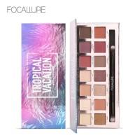 Focallure Tropical Vacation Eyeshadow Pallete Alat Rias Mata Make Up
