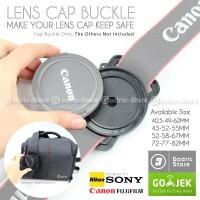Lens Cap Buckle / Tutup Lensa DSLR