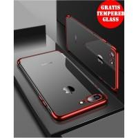 TKU# TERMURAH iPhone 8 Plus Shiny Transparen Bening Ultra Thin TPU