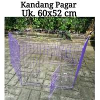 T2105 Kandang Pagar 60 x 52 cm - Kandang Hewan Anjing Kucing