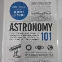 Buku Import Hardcover Astronomy 101