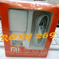 Carger Charger Hp Xiaomi Redmi 3 3s 3X 4A Putih Kaki Indo Original Ori
