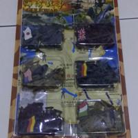 Mainan tentara plastik mini jadul tahun 90an